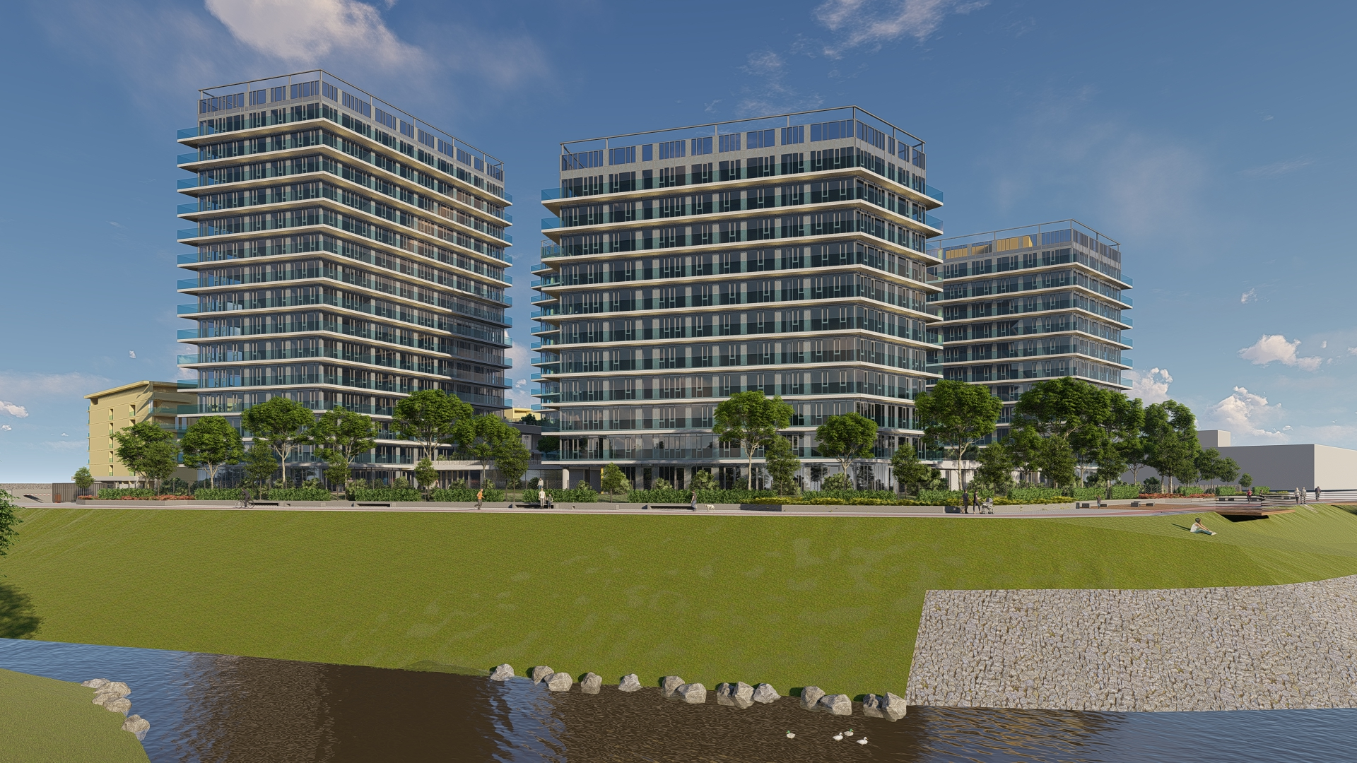 Kék-Duna Rezidencia lakópark
